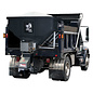 SaltDogg SaltDogg 4.0 Cubic Yard Electric Black Poly/Stainless Steel Hopper Spreader with Auger