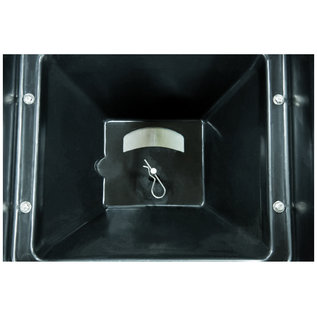 SaltDogg SaltDogg® Bulk Salt Walk Behind Broadcast Spreader with Black Powder-Coated Frame