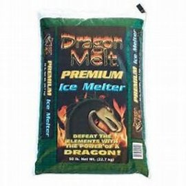 (1) 50 Lbs. Bag Dragon Melt Premium Ice & Snow Melter