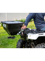 Buyers Products Company Horizontal Mount ATV All Purpose Spreader-100 Pounds