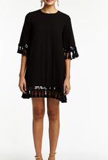 MESTIZA SHIMMY TASSEL DRESS