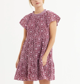 MARIE OLIVER ELLIE EYELET DRESS