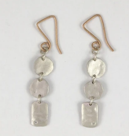SAUNDRA MESSINGER Boys + girls earrings