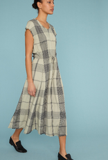 RAQUEL ALLEGRA DRAWSTRING DRESS