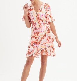 MARIE OLIVER RYAN WRAP DRESS