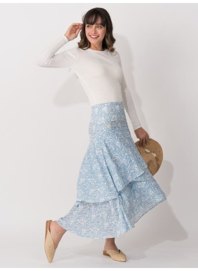 SONIA TIERED SKIRT