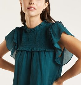 MARIE OLIVER SAMI RUFFLE BLOUSE