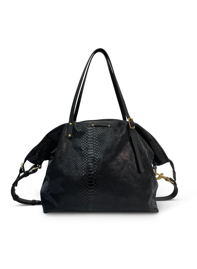 BLACK SNAKE CROSSBODY