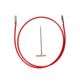 """ChiaoGoo Twist red cable 37"""" mini - 93 cm"""