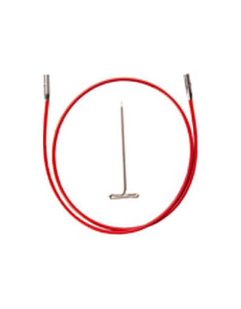 "ChiaoGoo ChaioGoo Twist red cable 37"" mini - 93 cm"