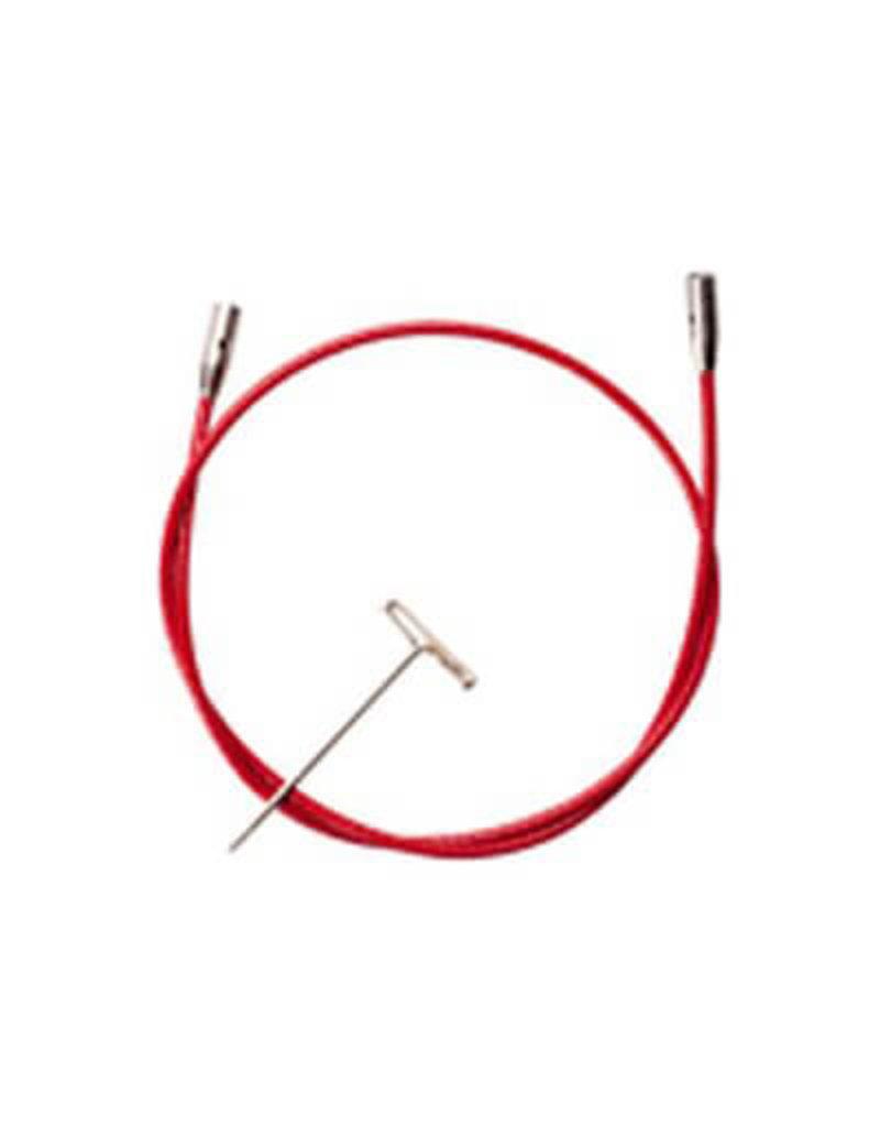 "ChiaoGoo ChiaoGoo Twist red cable 30"" Small -  75 cm"