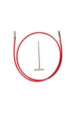 """ChiaoGoo Twist red cable 22"""" mini - 55 cm"""