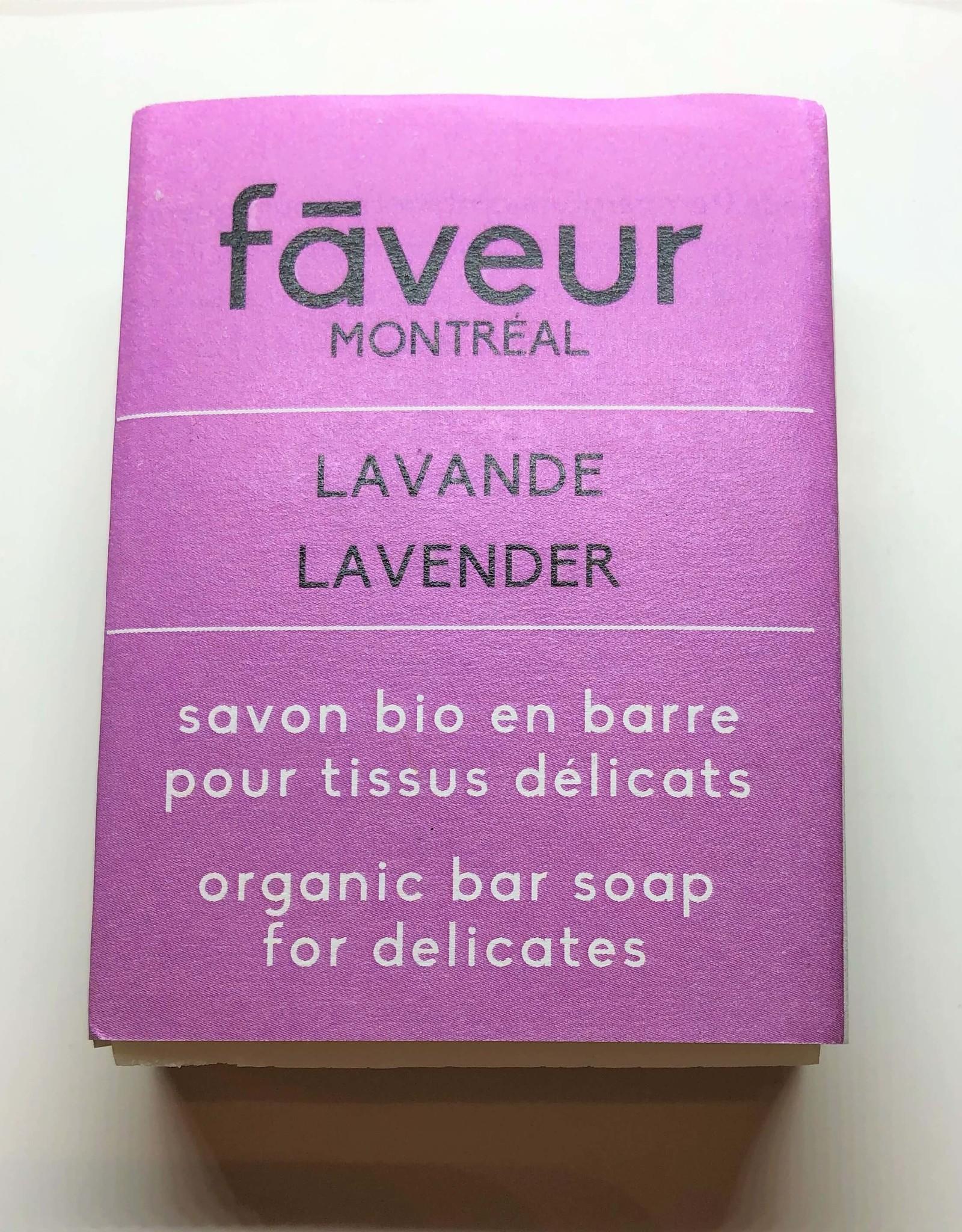 Faveur Montréal Savon en barre - lessive délicate