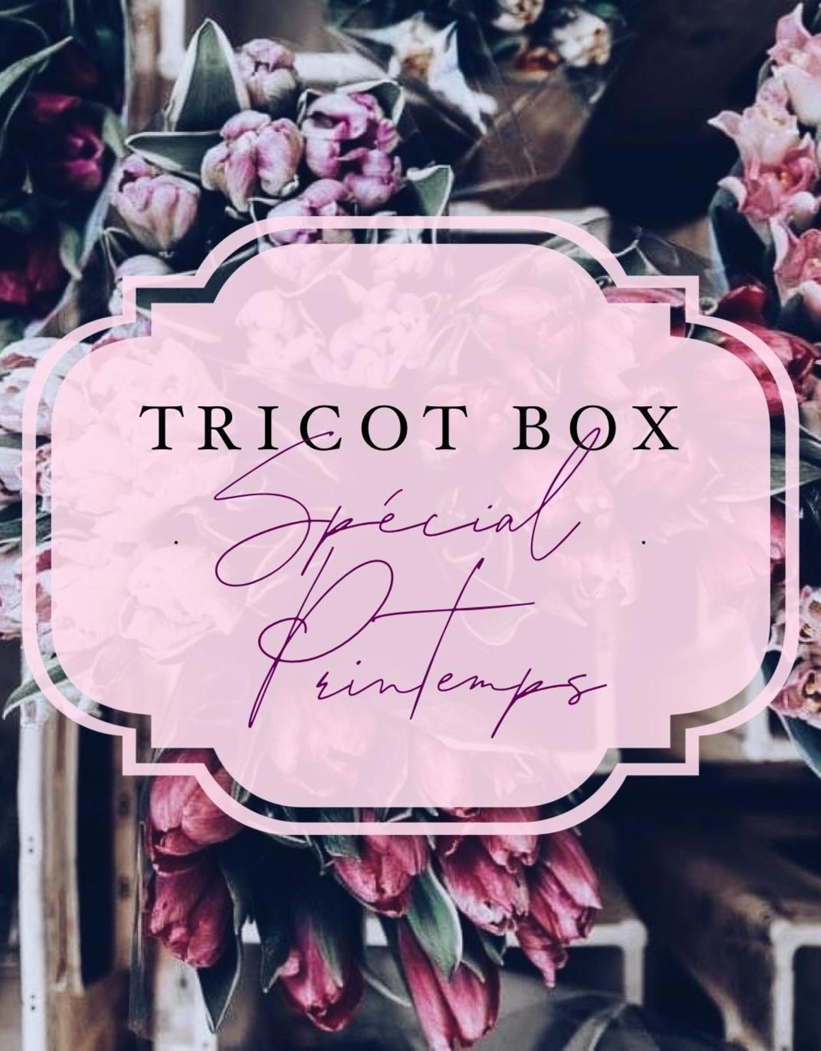 Pelotes & Cie Tricot-box Mai| Édition Écono