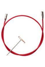 "ChiaoGoo Câble rouge twist 37"" (93cm)"