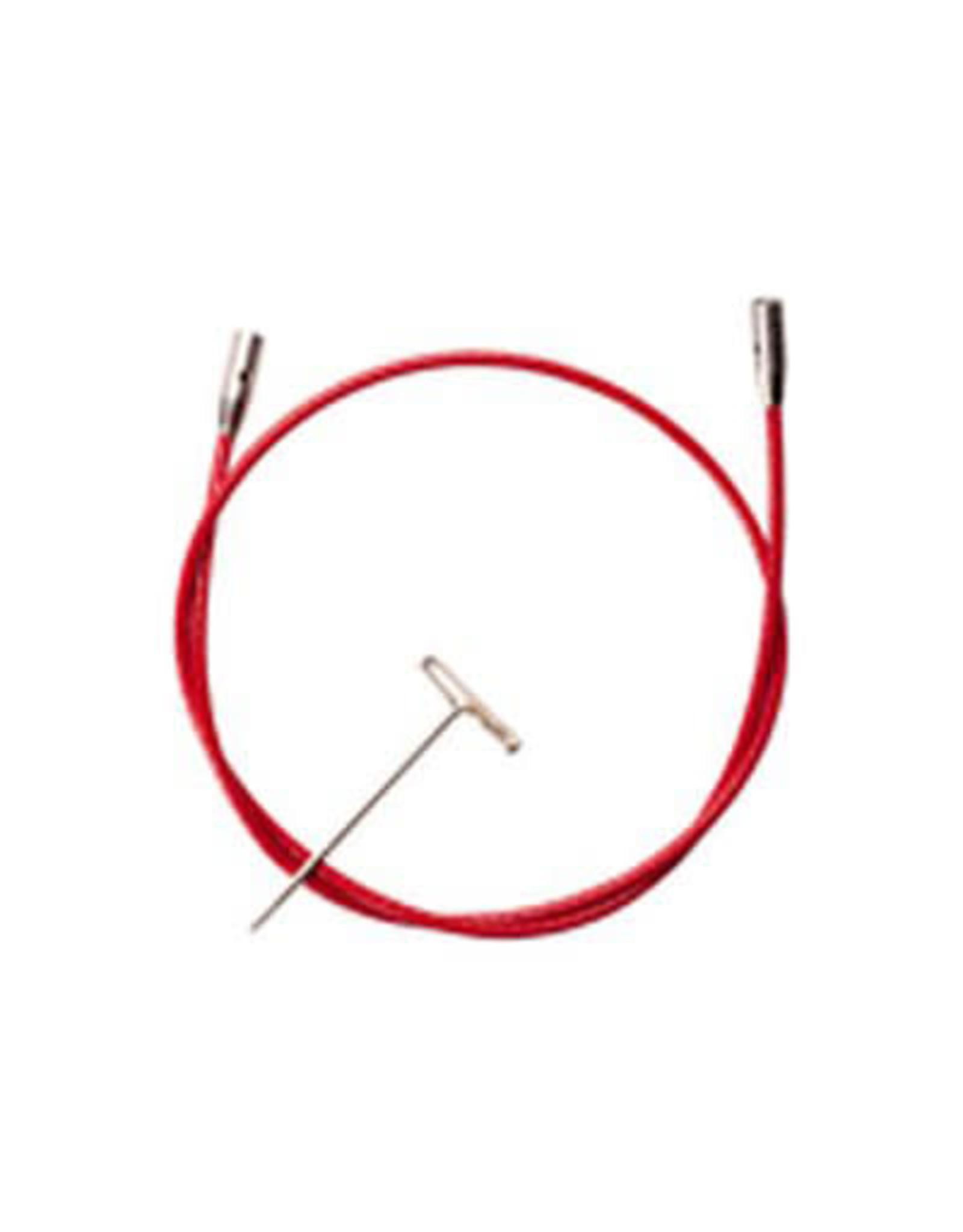 "ChiaoGoo Câble rouge twist 14"" (35cm)"