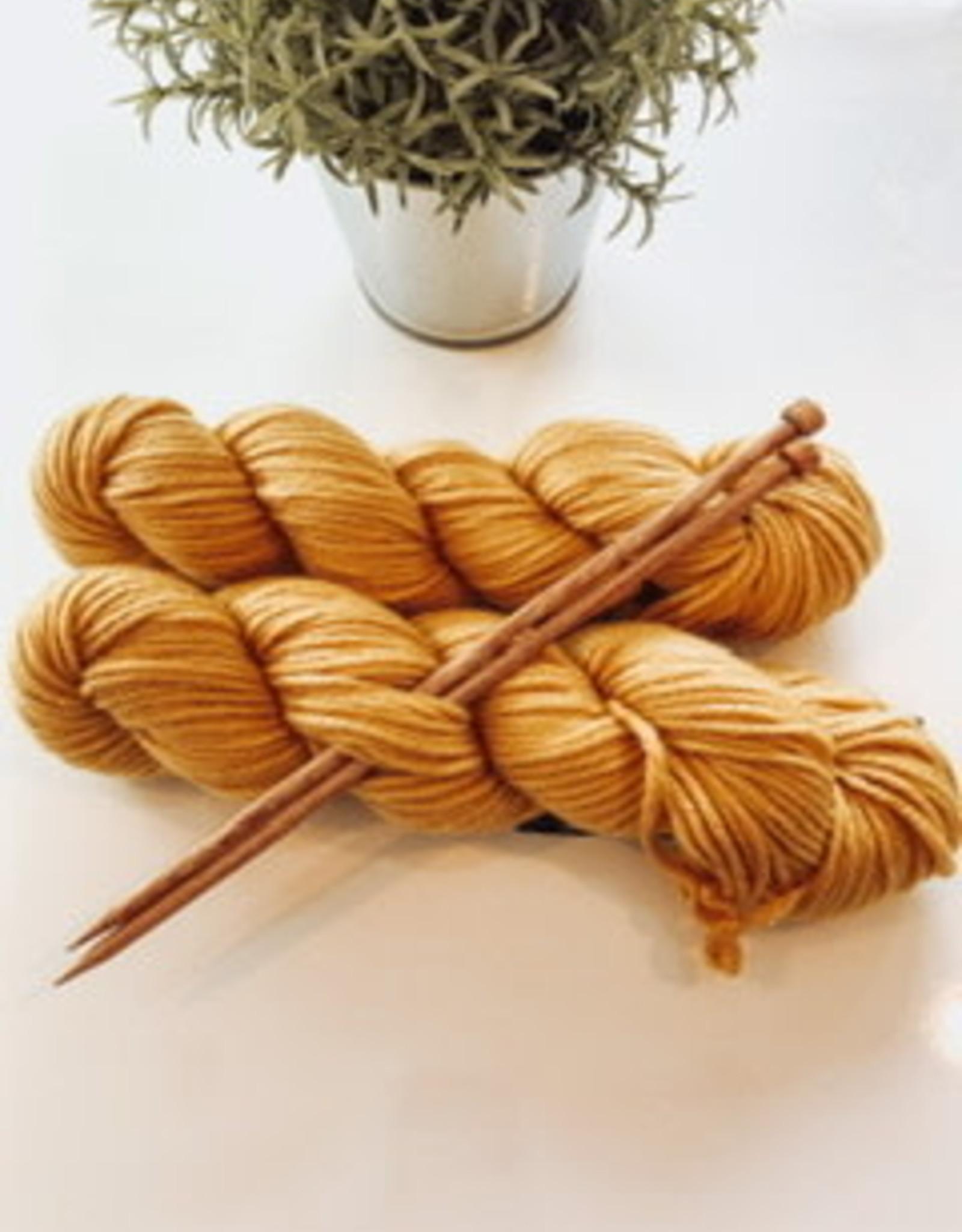 Pelotes & Cie Kit débutant Tricot - Golden rod