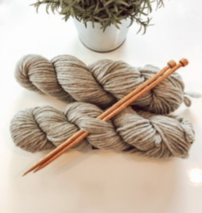 Pelotes & Cie Kit débutant Tricot - Smoke Heather