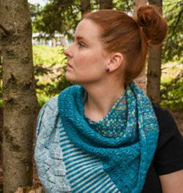 Pelotes & Cie Kit prêt à tricoter - Châle Splenius #2
