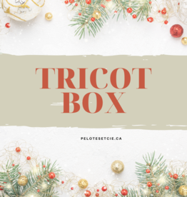 Pelotes & Cie Tricot-Box - Cocktail de Noël (De luxe)