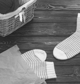 Pelotes & Cie Kit prêt à tricoter - Bas (Édition de luxe)