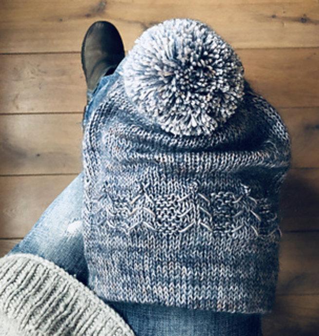Berroco Kit prêt à tricoter - Tuque Leni