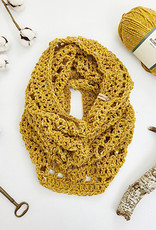 Pelotes & Cie Prêt-à-crocheter - Unfringed Cowl - Steel ragg