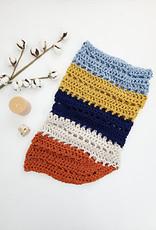 Pelotes & Cie Prêt-à-crocheter - Unfringed Cowl - Grape