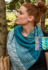 Pelotes & Cie Prêt-à-tricoter - Châle Splenius - Artic
