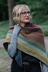 Berroco Prêt-à-tricoter - Châle Nightshift - Macaron