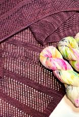 Pelotes & Cie Prêt-à-tricoter - Châle Paris Toujours - Cupcake