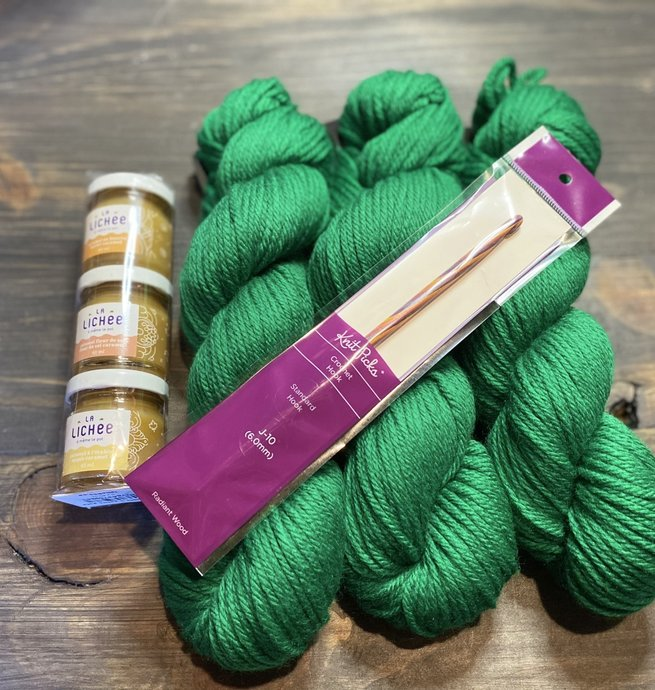 Pelotes & Cie Prêt à partir - Crochet + Caramels
