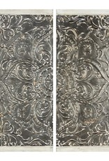 Ivanna Galvanized Wall Decor - 2 PIECE