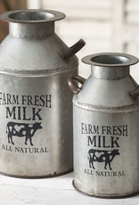 Farm Fresh Milk Can - Large