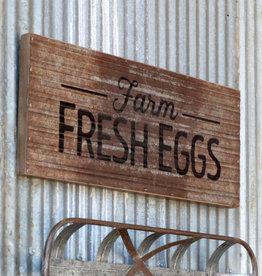 Barnside Fresh Eggs Sign , 24 inches