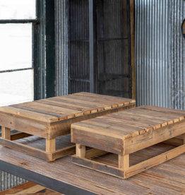 Farmer's Market Display Platform Crates - set of 2