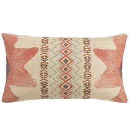 Burlap Pk Star End Pillow 11X19