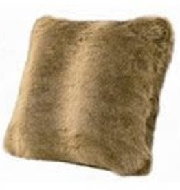 Faux Fur Pillow 18x18 wolf