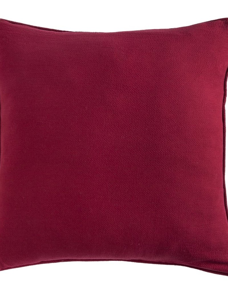 Reversible Solace Euro Sham W/ Embroidery & Concho Details 27x27