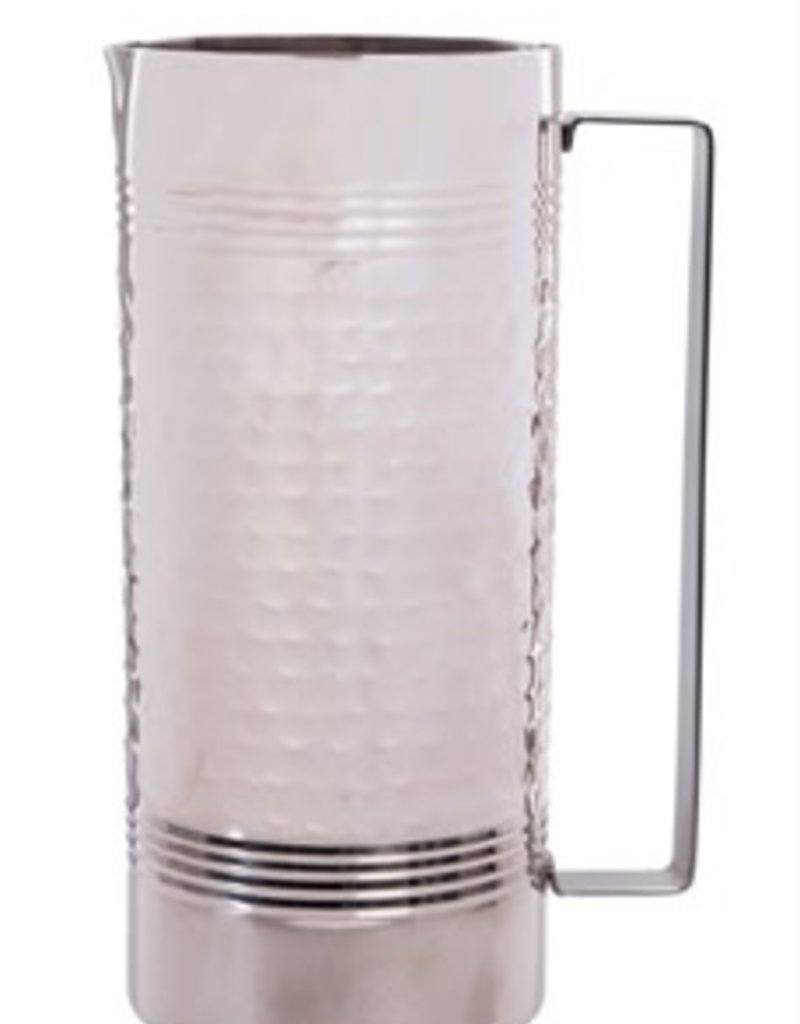 Double Wall Stainless Steel (Silver) Pitcher 20 OZ