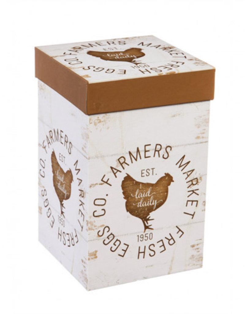 Ceramic Travel Cup w/Box and Tritan Lid 17 OZ Farmers Market