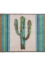 Rug with Cactus Design 24x36