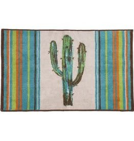 Rug with Cactus Design 24x36