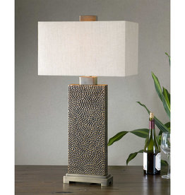Uttermost Canfield One Light Table Lamp in Coffee Bronze