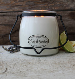Butter Jar 16 oz Citrus and Lavender