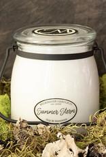 Butter Jar 16 oz Summer Storm