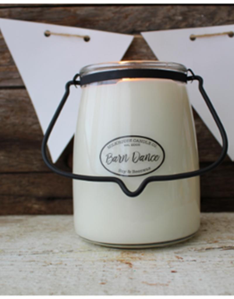 Butter Jar 22 oz Barn Dance