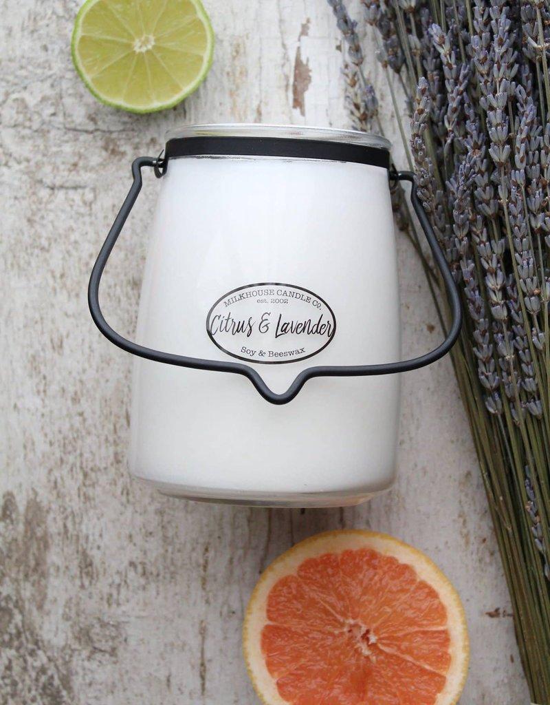 Butter Jar 22 oz Citrus and Lavender