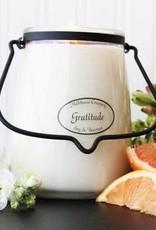 Butter Jar 22 oz Gratitude