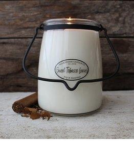 Butter Jar 22 oz Sweet Tobacco Leaves